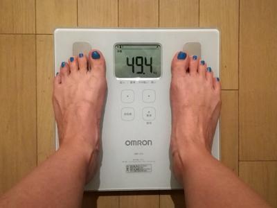 美穀菜ダイエット29日目の朝の体重