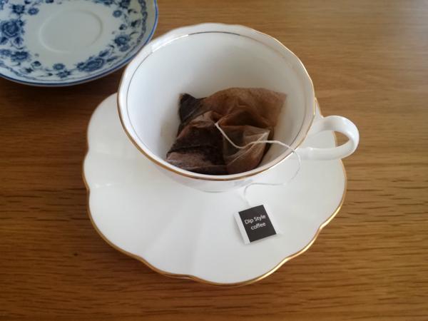 ロクメイコーヒー蒸らし